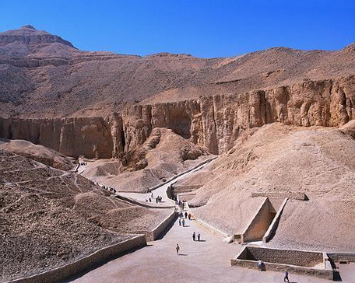 La Valle dei Re, Luxor, Egitto